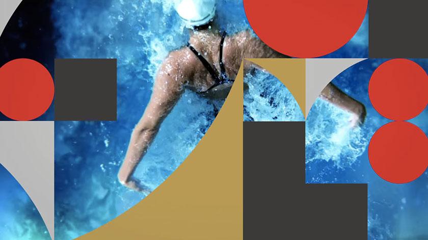 Identidad visual logotipo Juegos Olímpicos de Tokio